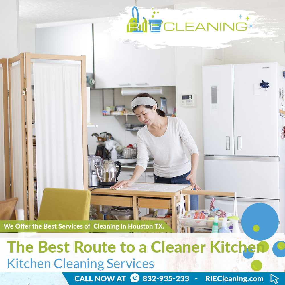 RIE Cleaning - The Best Route to a Cleaner Kitchen